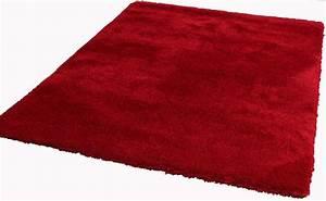 Tapis 160x230 Pas Cher : tapis de salon rouge ~ Teatrodelosmanantiales.com Idées de Décoration