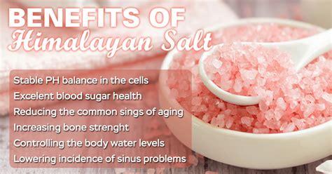 benefits of himalayan salt l himalayan salt benefits