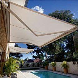 sequoia awning strong    outdoor patio cover yard manual awning retractable sun shade