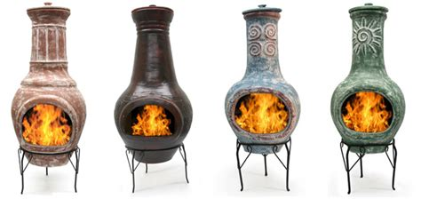 Mexican Fireplace Chiminea by Chimeneas Outdoor Fireplace Willard And May Outdoor