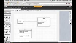 Lucidchart To Draw Uml Class Diagram