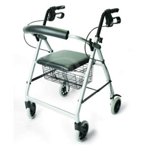 lightweight 4 wheeled walker with seat local mobility