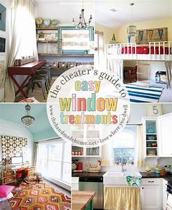 The Cheater U0026 39 S Guide To Easy Window Treatments