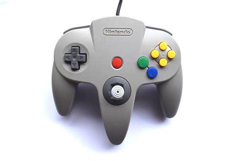 nintendo n64 console nintendo 64 n64 console grey cables controller region