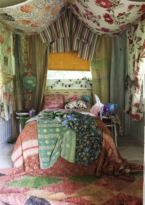 drape fabric from ceiling bedroom 40 bohemian chic bedroom design ideas the idea of