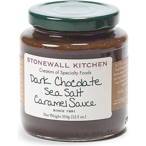 stonewall kitchen caramel sauce dark chocolate sea salt