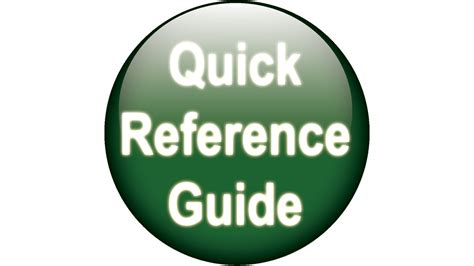 Quick Reference Guide | CPA Practice Advisor