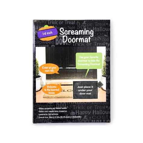 Screaming Doormat by Screaming Doormat
