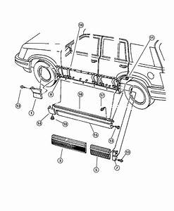 Jeep Grand Cherokee Body Parts Diagram