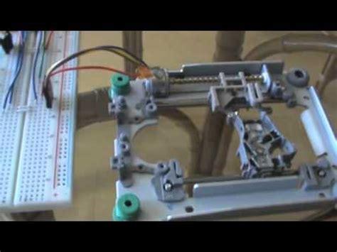 Arduino Dvd Bipolar Mini Stepper Motor Driven