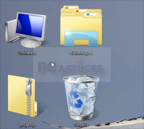 icones bureau agrandir les icônes du bureau windows vista et windows 7