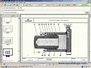 Liebherr Lidos 2009 Repair Manual  Spare Parts Catalog