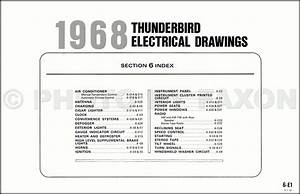2002 Ford Thunderbird Wiring Diagram Original