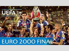 France v Italy UEFA EURO 2000 final highlights YouTube