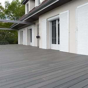 Bois Composite Pour Terrasse : ext rieur la terrasse en bois composite ctm r novation ~ Edinachiropracticcenter.com Idées de Décoration