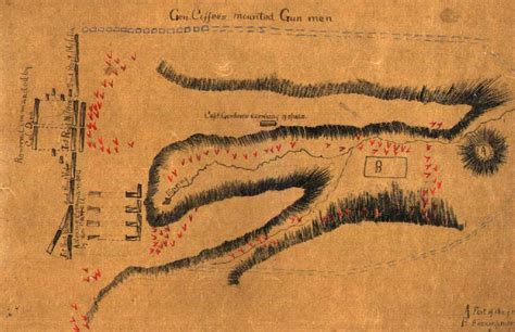 Map of the Battle of Talladega, A-43, Alabama Department ...