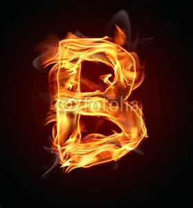 """""""Fire letter """"B"""""""" Stock photo and royalty-free images on ..."""