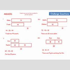 Bar Modelling Worksheet  Comparison Model Questions By Wrmaths  Teaching Resources
