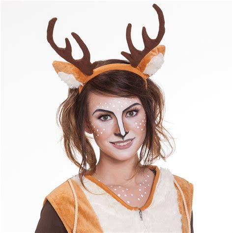 karneval kostüm reh schmink tipp reh make up buttinette faschingsblog