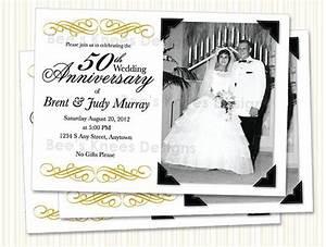 9 best 25th 50th wedding anniversary invitations With print your own 50th wedding anniversary invitations