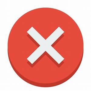 Sign error Icon | Small & Flat Iconset | paomedia
