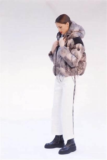 Jacket Puffer Zebra Nylon Short Woman Padded