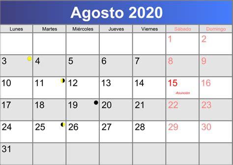 calendario agosto imprimible abc calendarioes