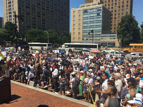 Thousands condemn Trump policies at N.J. Families Belong ...