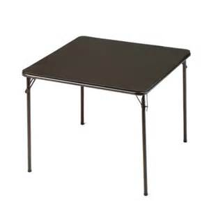 meco corporation 34 square folding table walmart com
