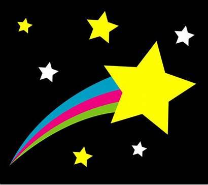 Sky Shooting Star Stars Night Clip Starry
