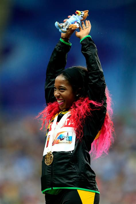 His net worth is estimated at $1.1 billionaire by forbes and celebrity net worth. Shelly-Ann Fraser-Pryce - Shelly-Ann Fraser-Pryce Photos - IAAF World Athletics Championships ...