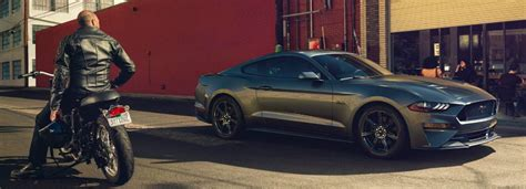 Check Out The Leaked Order Guide For The 2018 Mustang