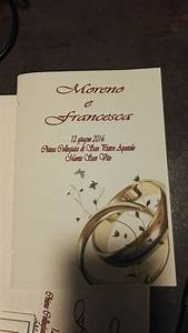 Copertine Libretto Matrimonio CI87 Regardsdefemmes