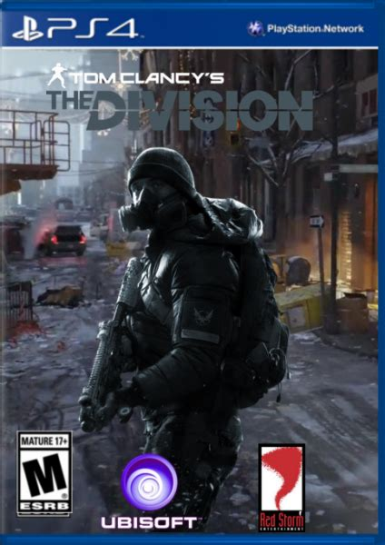 tom clancys  division playstation  box art cover