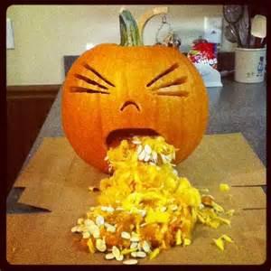 Pumpkin Guacamole Throw Up 17 best images about halloween ideas on pinterest