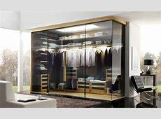 15 Stunning Glass Wardrobe Designs Bedroomm