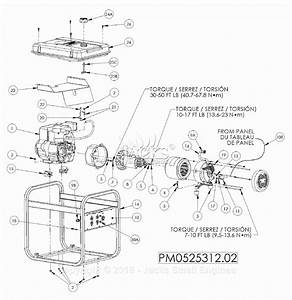 Powermate Formerly Coleman Pm0525312 02 Parts Diagram For