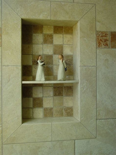 tile shower shoo niche soap dish and shoo recess tile your