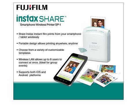 fujifilm instax smartphone printer sp 1 fujifilm instax sp 1 wireless smartphone printer Inspirational