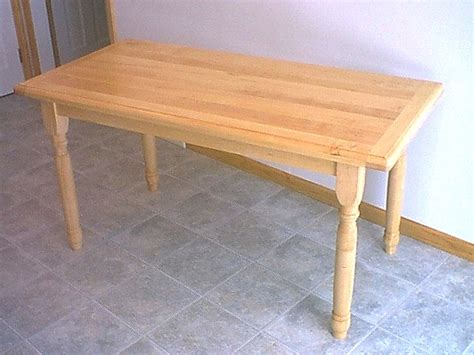 Dining Table Butcher Block Maple Dining Table