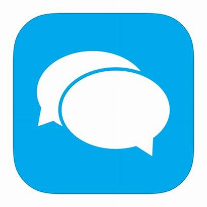Icon Messaging Apps Messenger Transparent Clipart Text