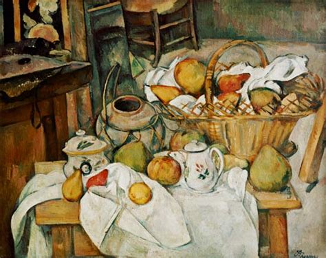 la table de cuisine la table de cuisine de paul cézanne