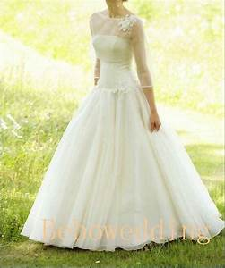 simple princess outdoor wedding dress with 3 4 by With simple outdoor wedding dress
