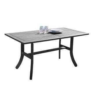 wood outdoor dining tables shop   brands