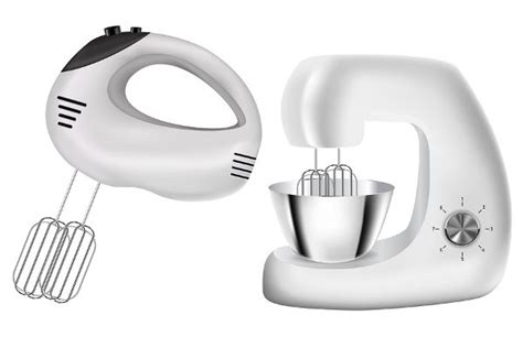hand mixer  stand mixer vector illustration isolated