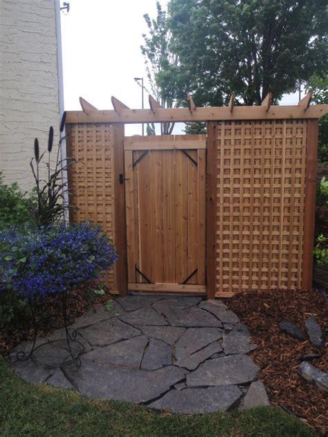 fence gate construction calgary landscaping company assiniboine