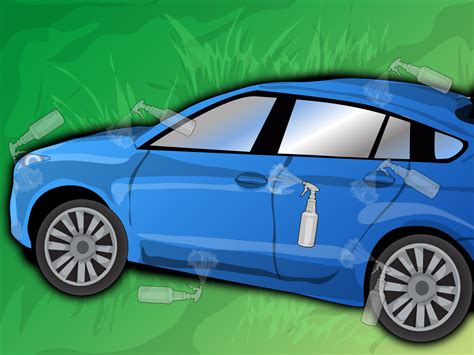 remove  car wax  steps  pictures wikihow