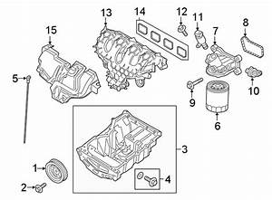 2016 Ford Edge Engine Intake Manifold