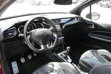 photo ds3 thp sport chic interieur