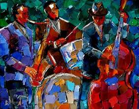 Abstract Jazz Art Paintings